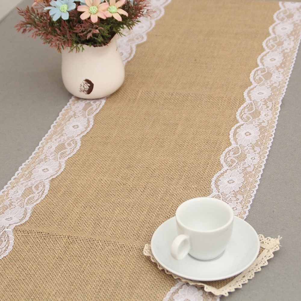 Vintage Solid Linen Table Runners #resinartwork #fridayvibes
