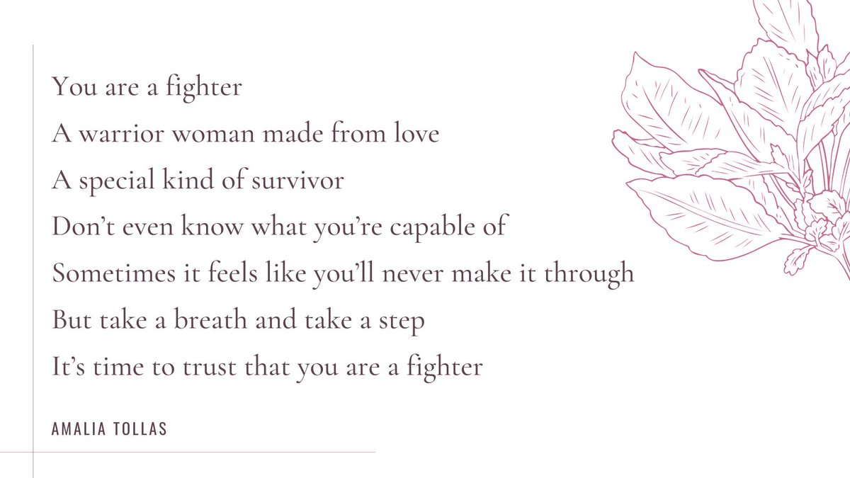 """""""Fighter"""" a song for survivors.  Thank you @amalia_moore_ for sharing your beautiful work with us! To hear more from her, follow the link bellow to listen on your preferred music platform.    #womenhelpingwomen #singer #music #singer #musician #love"""