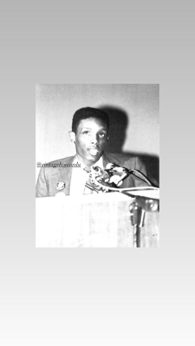 Did you know Dr. Carr @AfricanaCarr was the Student Government President at his alma mater #tennesseestateuniversity .   #vintagehowardu #howarduniversity #howardalumni #inclasswithcarr #drgregcarr #blackhistorymonth