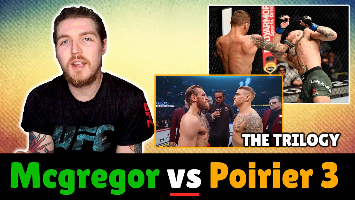 Conor Mcgregor vs Dustin Poirier 3 - Who Wins!?  Lets get at it! New Video live on YT now!  #ufc #ufc257 #ConorMcGregor #dustindiamond