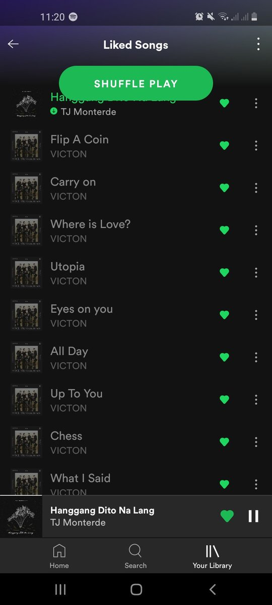 Why can't I play them??? No discography too☹ #Spotify #VICTON