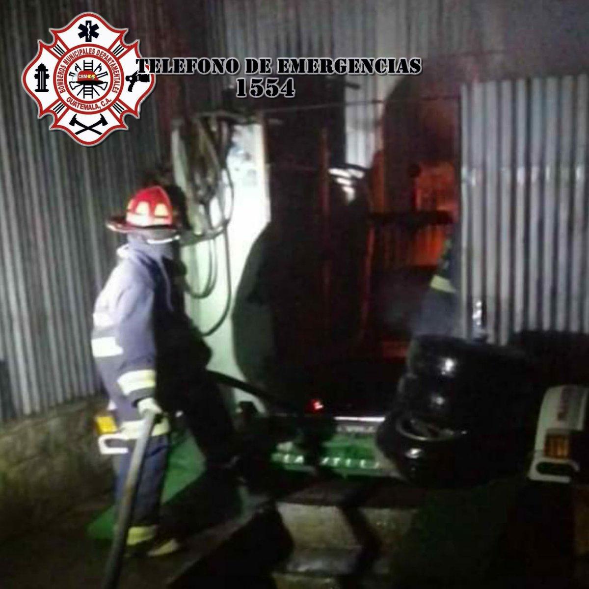 test Twitter Media - Bomberos Municipales Departamentales sofocaron durante la madrugada un incendio en un taller de mecánica en el sector Villa Linda, Patzún Chimaltenango. Las pérdidas ascienden a más de Q20 mil y se desconocen las causas que originó el incendio. https://t.co/zMQGmgkktk