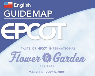 🌸The new map for the 2021 Taste of EPCOT International Flower & Garden Festival is here!🌼    #WaltDisneyWorld #WDW #DisneyWorld #EPCOT #FreshEPCOT