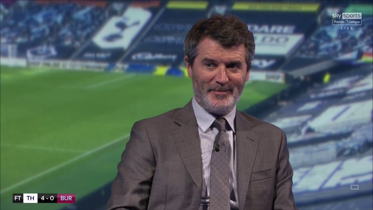 """🕵️Roy Keane believes Burnley made it easy for Tottenham Hotspur and still doesn't think Spurs can finish in the Premier League's top-four places:  🗣""""Let us not kid ourselves, Burnley made this game easy for Spurs, they were awful.""""  #THFC #COYS #TOTBUR"""