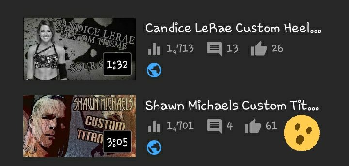 My first ever Shawn michaels Titantron is getting close to being my most viewed video ever!!! #WrestlingTwitter #YouTube @keenanfisher13 @LyonsGamezYT @SCW_Steve @JonnyLeTran6