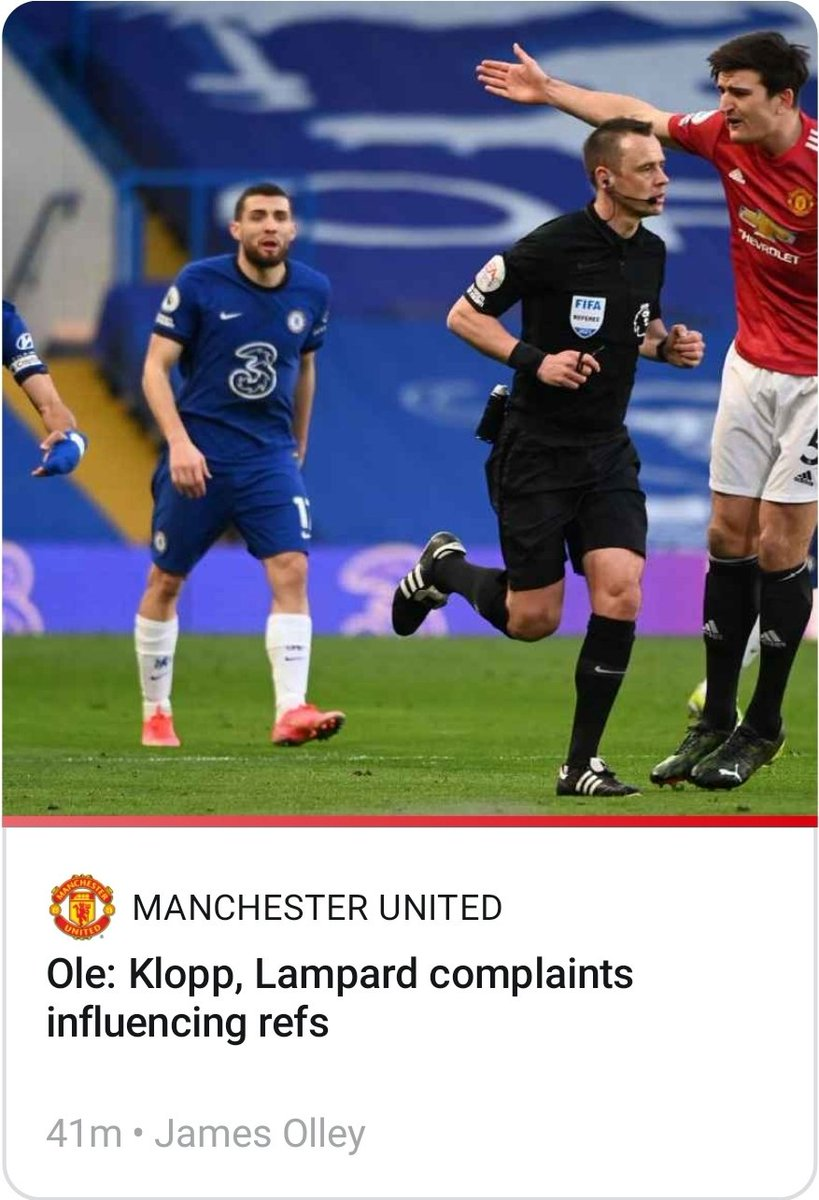 Oh, he really called them BOTH out!? Or just Frank? You sure, @ESPNFC and @JamesOlley. And was that the direct quote? Journalist integrity at its finest once again. #GGMU #MUFC #ManUtd