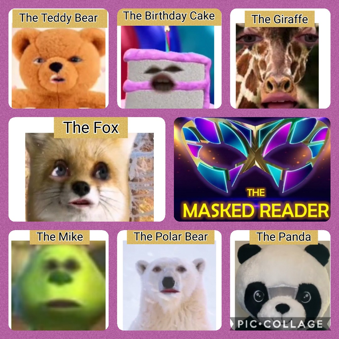 RT @MsCroft86: Coming together nicely! Who is behind the mask?  #themaskedreader #WorldBookDay2021 https://t.co/yNndVbOShe