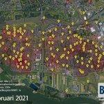 @BarendrechtnuNL - De 112-meldingen kaart van #Barendrecht voor februari: o.a. 230 ambulanceoproepen (72x direct spoed) en 44 meldingen voor de brandweer (23x spoed). De traumaheli werd 1x opgeroepen, maar vlak voor de landing afgemeld. Kaart met meest recente meldingen: https://t.co/zbALoPH5gv https://t.co/7mItETRfAv