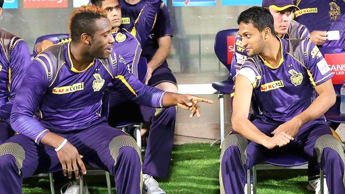 Not bad, mate! You're getting there 💪🏻  What do you think the conversation is? 🤔  @Russell12A @Sah75official #KKR #HaiTaiyaar