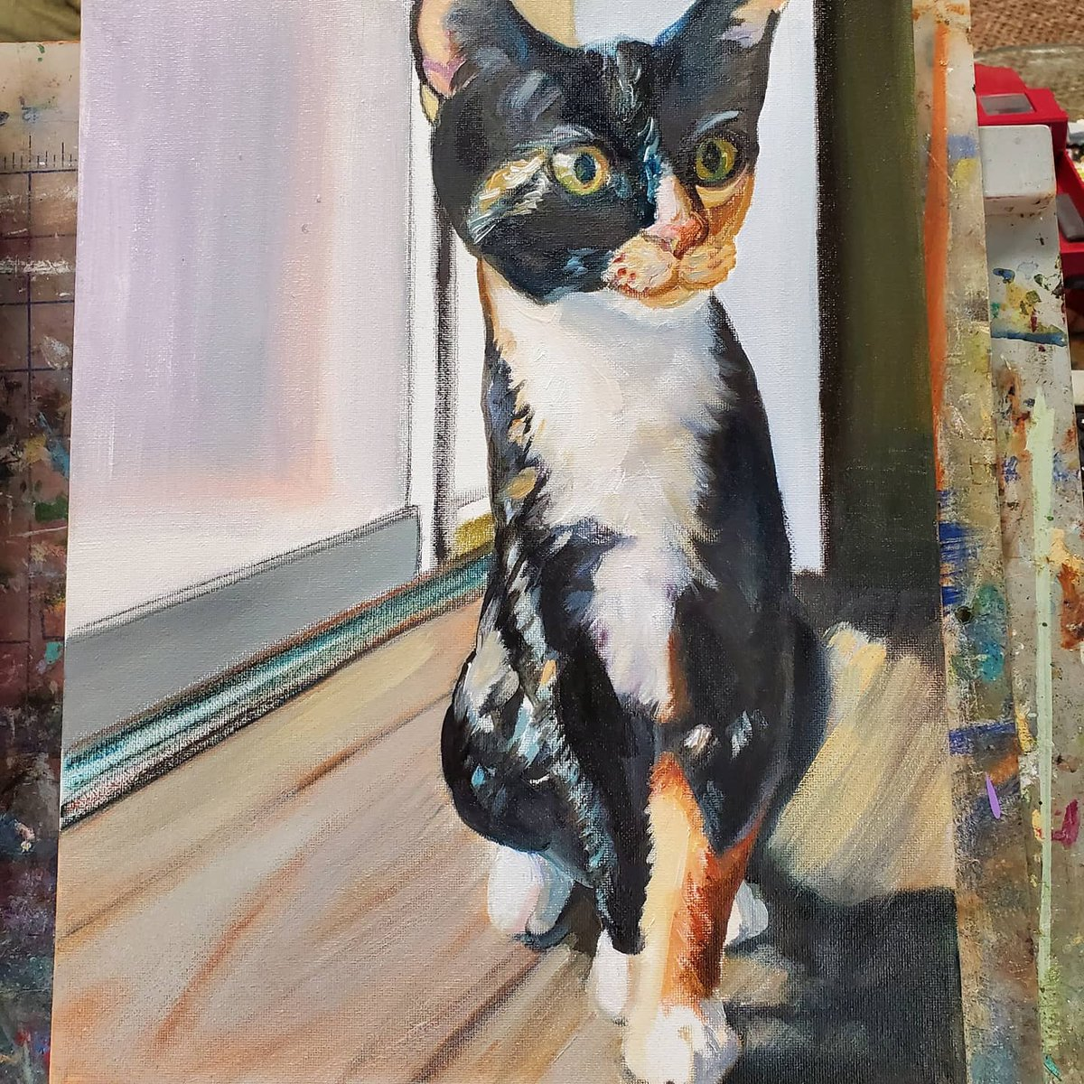 Attention Cat Lovers! Your Cat is a Work of Art! Let me Capture that in an Oil Painting for you!  #petportrait #petportraits #petportraitartist #paintmycat #lovecats #lovemycat #catsrule #cats #catartist #petpainter