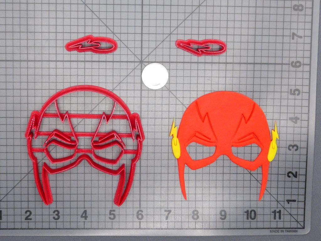 Flash Mask 266-D824 Cookie Cutter Set now available!  #baking #cookies #fondant #diy #homemade #handmade #bakingsupplies #instadaily #instafood #igdaily #jbcutoutoflove #cookiecutters #fondantcutters #customize #custom #flash #theflash #superhero