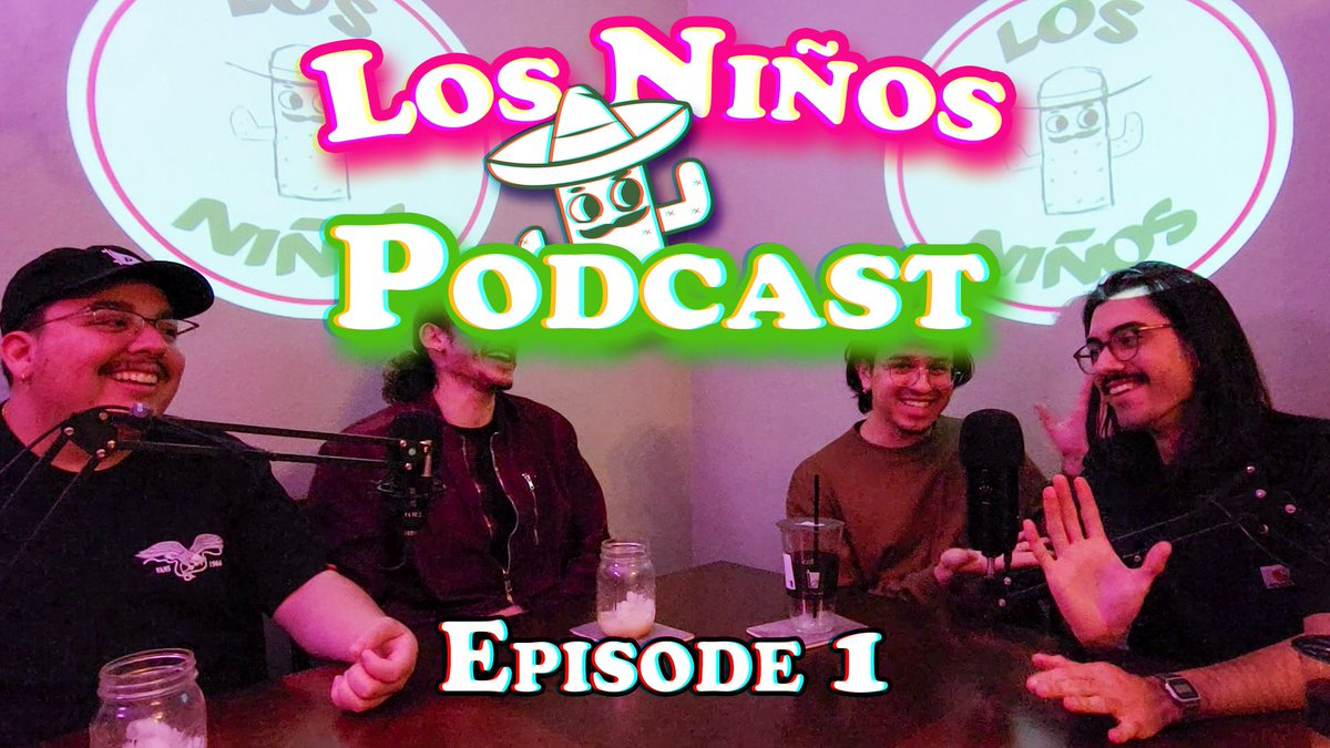 Our first podcast is LIVE now! Come check us out and see what we're about!  #YouTube #podcast #cactus