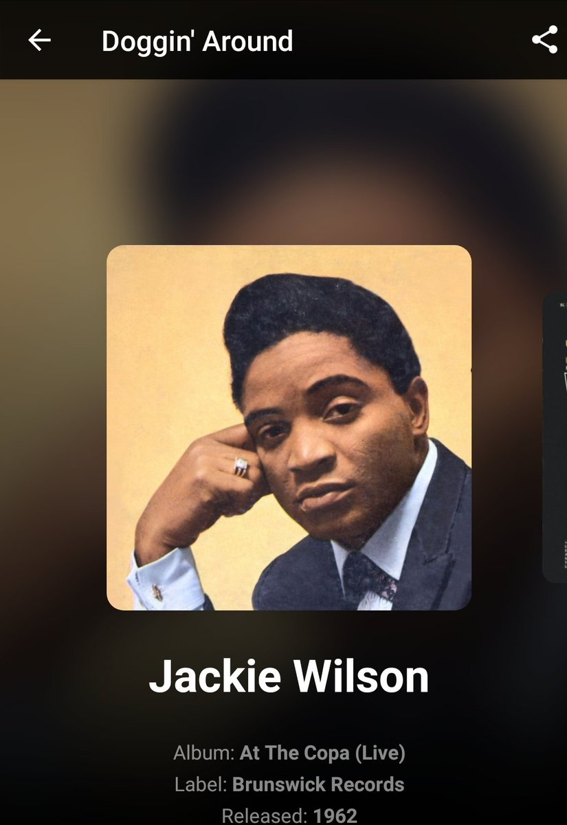 DANG @CassieJFox you can play #JackieWilson all dang day on #SOTB if ya want ... I love it!