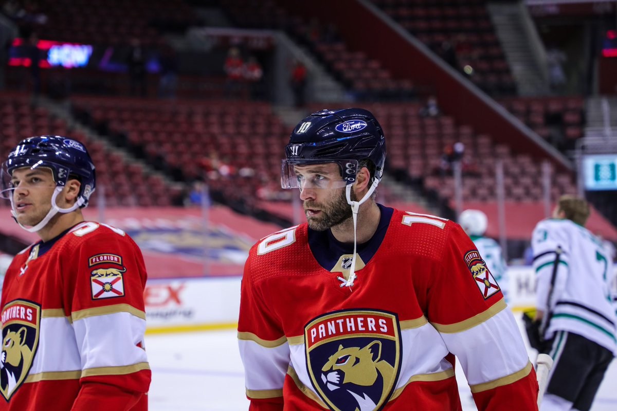 The #FlaPanthers have placed Brett Connolly on waivers. He has two years left after this on four-year deal @$3.5m per...