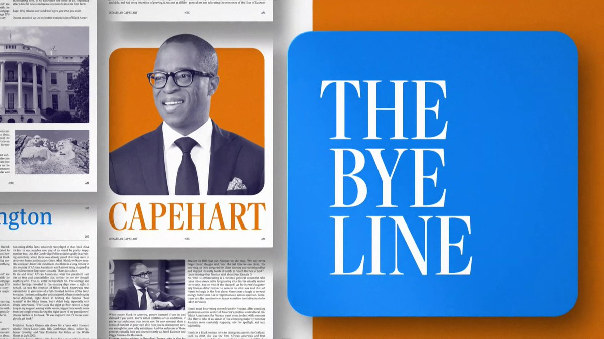 """Watch @CapehartJ deliver this week's """"Bye Line,"""" and leave your thoughts in the replies. #SundayShow"""