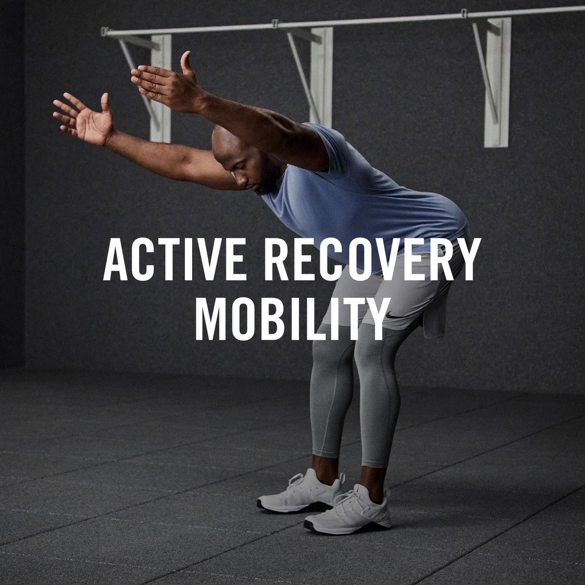 Recover. I just completed a workout with Nike Training Club! #TeamNike #NikeTraining #NikeTrainingClub #NikeTrainingClubNY