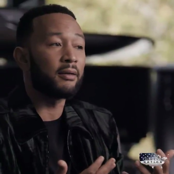 """John Legend tells @SoulofaNation that the previous generation of activists """"were my super heroes, and I wanted to live a life that was impactful, like they did.""""   Watch more from his interview on #SoulofaNation, premiering TOMORROW at 10