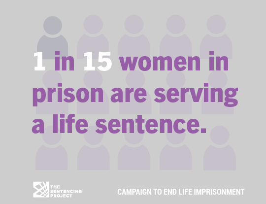 Incarcerated women serving life without parole increased 43% between 2008 and 2020. bit.ly/3jWXsRK #EndLifeImprisonment