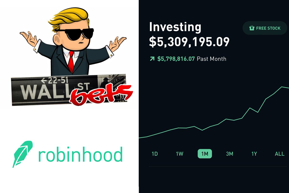 I think its about time for reddit and Robinhood to be crushed like the skeeves they are and put out of business.  Anyone with me? https://t.co/O2gAaLmJZE