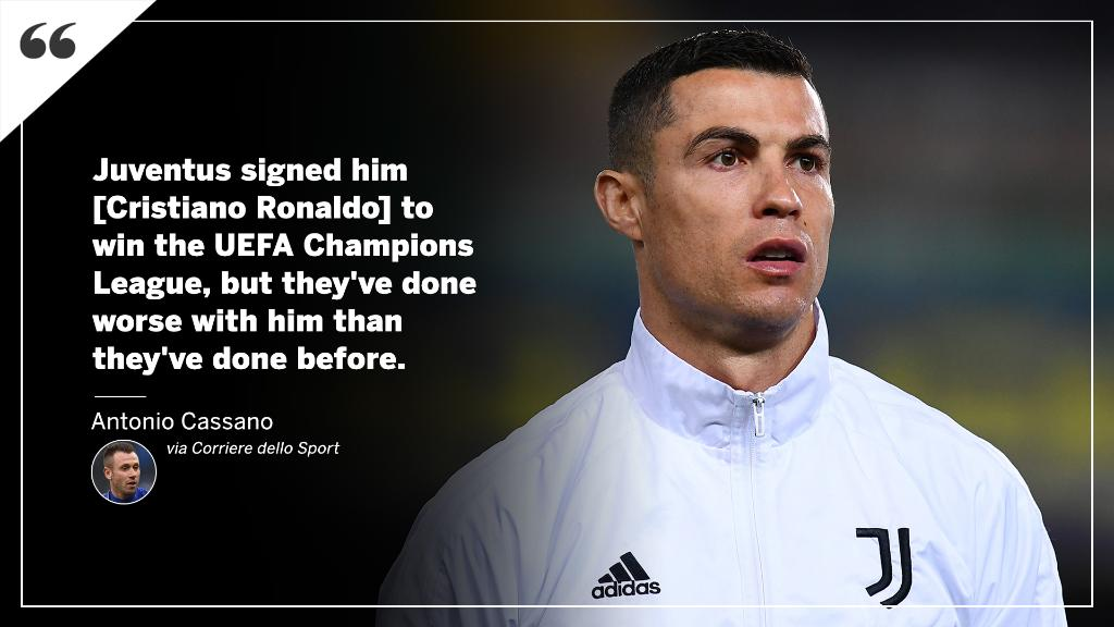 Cassano delivers his verdict on Cristiano Ronaldo 😳