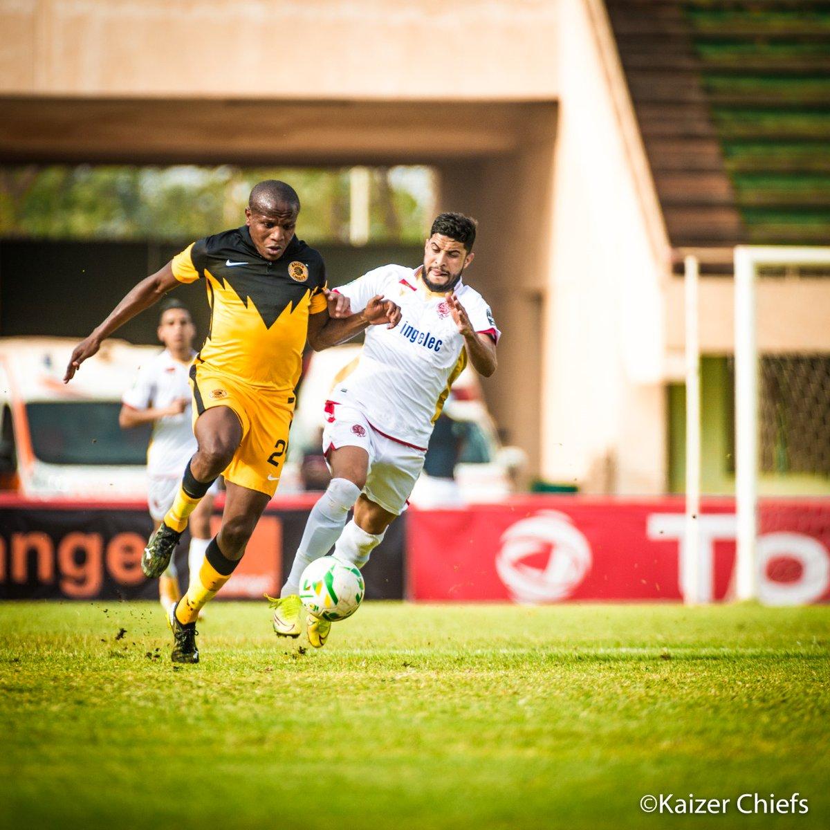 90 + 3'  #WAC 4 : 0 #CHI   Full time score: (Ounnajem  7', El Kaabi 44', Msuva 85', Jabrane. pen 90 + 4') Wydad Athletic Club 4 : 0  Kaizer Chiefs   #KCOneTeam #CAFCL #Amakhosi4Life