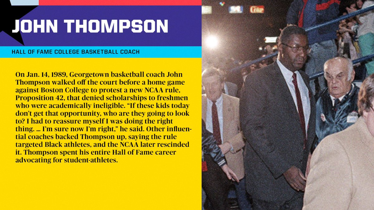 #RT @espn: John Thompson was a true icon who fought for his players both on and off the court.  #BHM x #BlackHistoryAlways