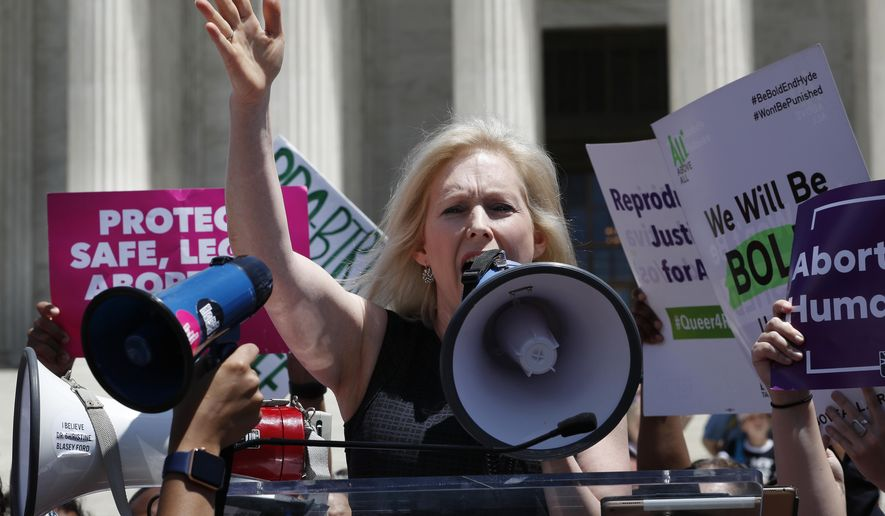 Sen. Kirsten Gillibrand addresses sexual harassment allegations against Andrew Cuomo