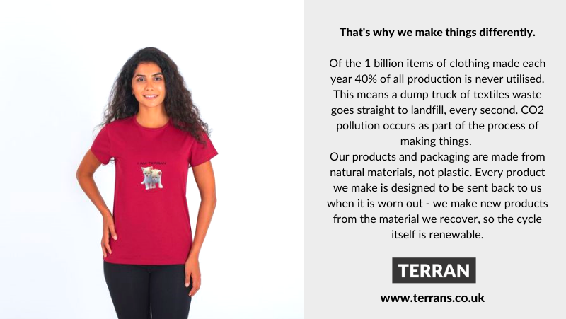 About SA8000 Founded in 1997, SAI empowers people at all levels of businesses and supply chains.  .  Visit TERRAN at . #love #gift