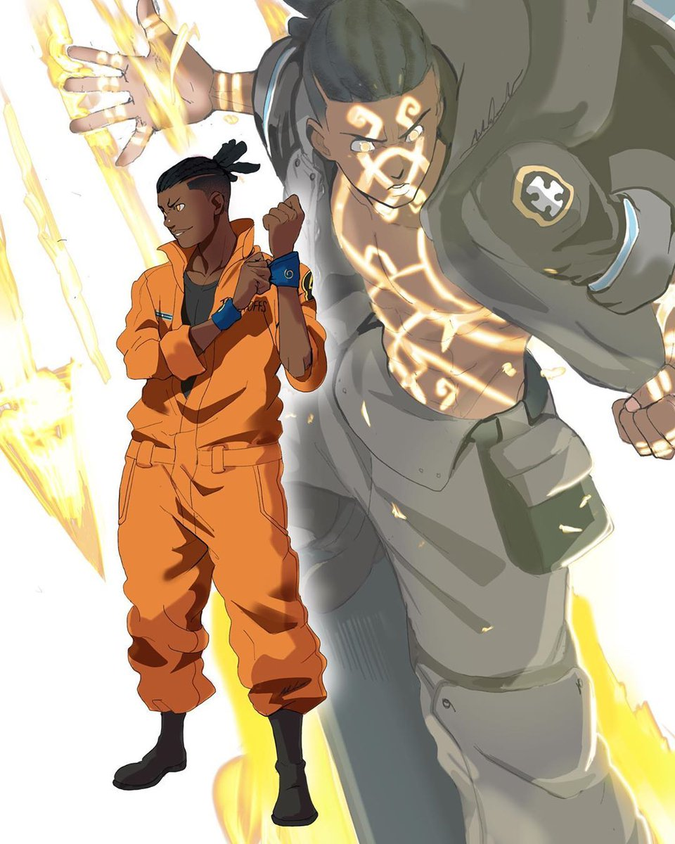 I kno October is 8months away but I'm definitely pulling this off🔥🔥🔥 #FireForce #OgunMontgomery