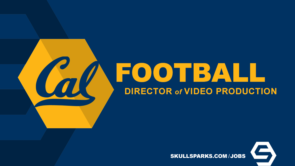 Creative video opportunity in Berkeley with @CalFootball. Director of Football Video Production: bit.ly/3bPhzO3 More jobs: SkullSparks.com