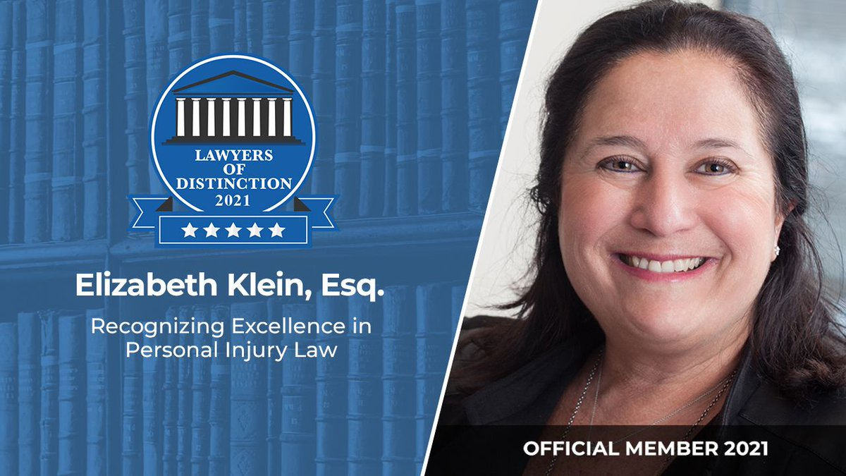 Lawyers of Distinction wishes to welcome Elizabeth Klein, Esq. Elizabeth practices Personal Injury Law in Huntington Woods, MI  #Lawyer #Legal