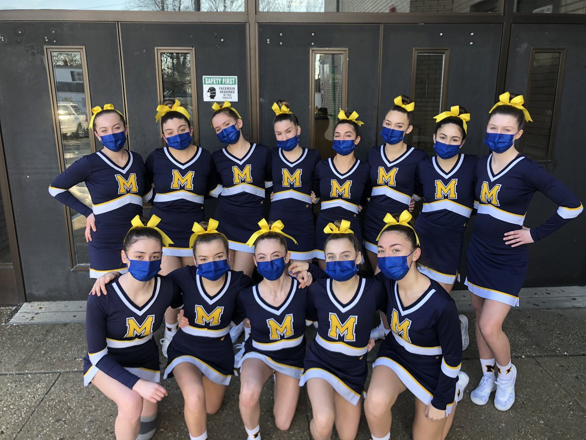 Congratulations to the JV Cheerleading Team for coming in 2nd place in yesterday's competition. What an amazing accomplishment and a great way to end the season!🥈📣 @MassChiefs #MHS #Chiefs #JVCheerleading
