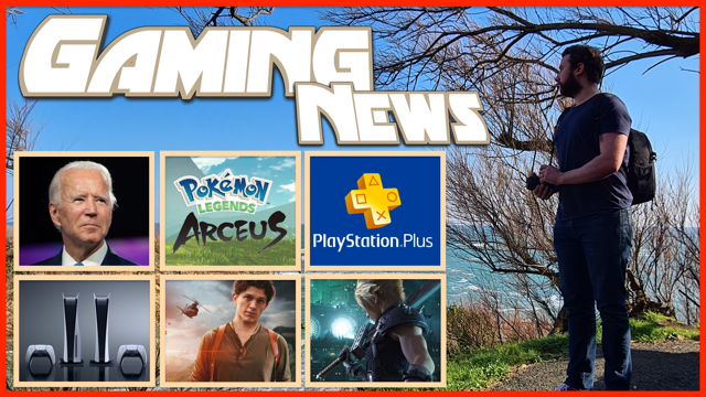 Je vous embarque avec moi pour un Nouveau Gaming News en plein air : #PS5, SSD cet été, Pénurie de semi-conducteur #JoeBiden réagit ( domaines Consoles & Général ! ), #Uncharted le Film Inquiétant ? & Légendes #PokemonLegendsArceus Discutons 🔥➡️
