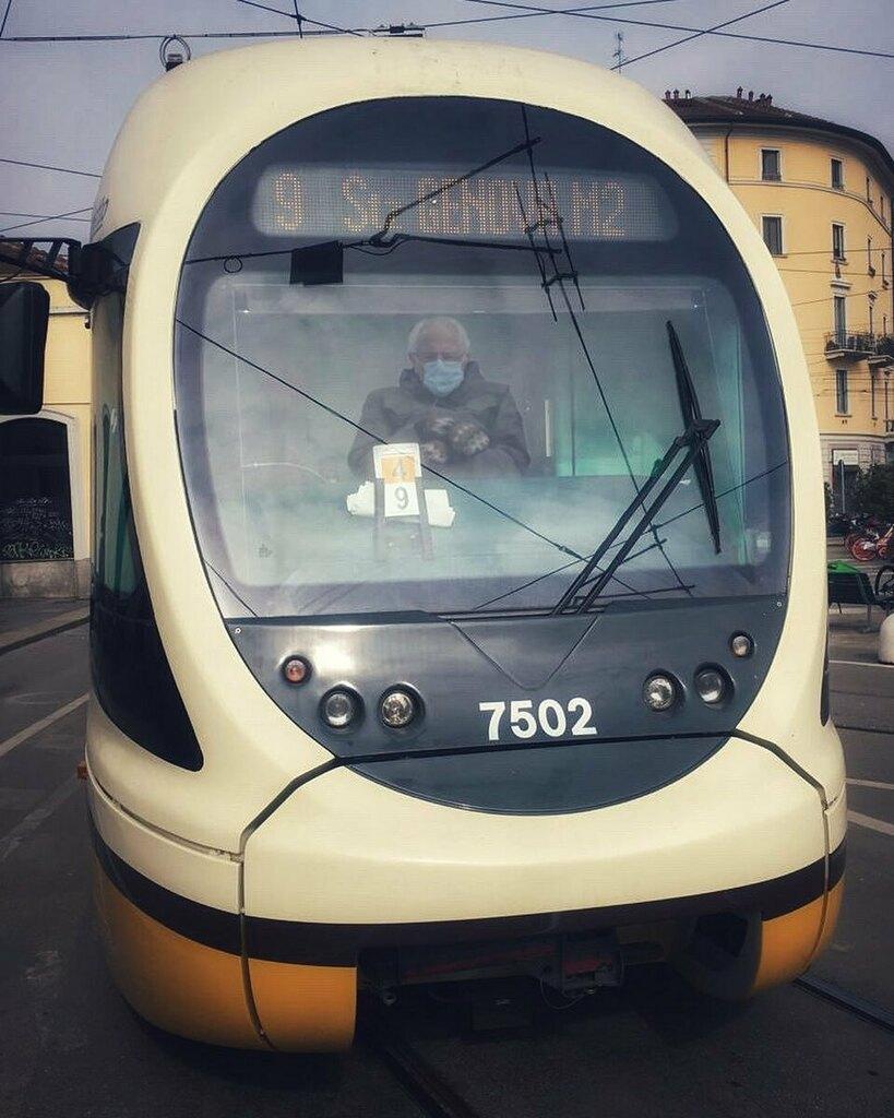 😱 #veramente? #tram9 #conducente #berniesanders