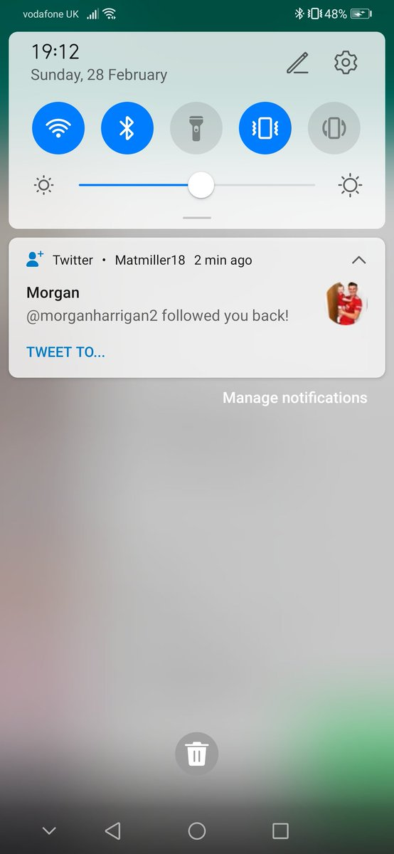 Thanks mate appreciate the support @morganharrigan2