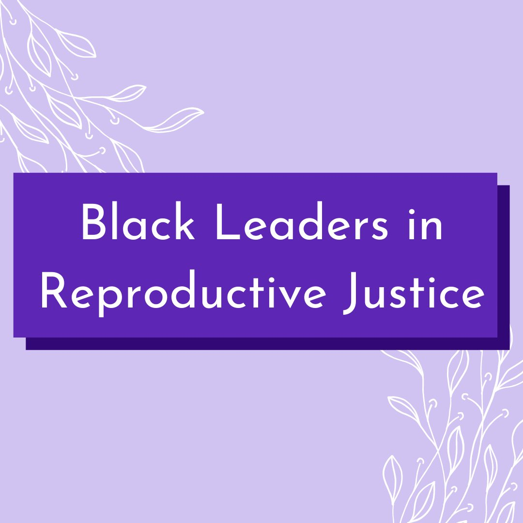 B4 the end of #BHM , we wanted to highlight some of the amazing Black leaders in the #reprorights movement. It's important to give due credit to the amazing BIPOC and LGBTQ+ leaders who have got us where we are today, year round and not just during February #NHPolitics