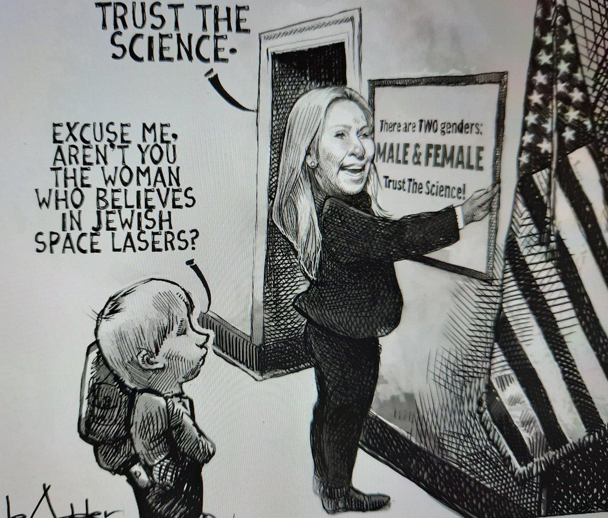 The Washington Post  Guest Cartoonist: Michael De Adder