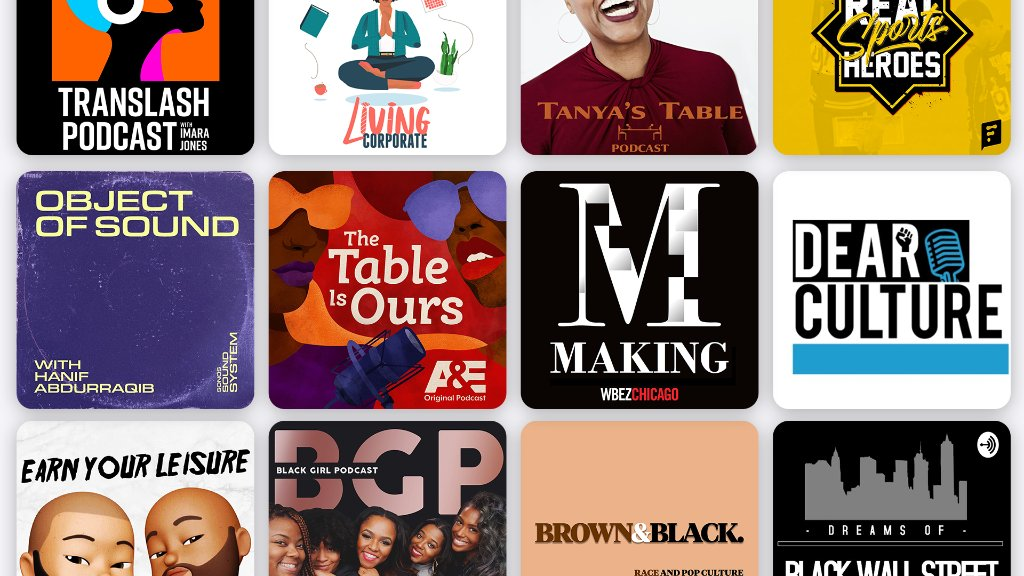 Listen to podcasts from Black creators all year round. Get to know these shows about sports, music, food, finance and more: