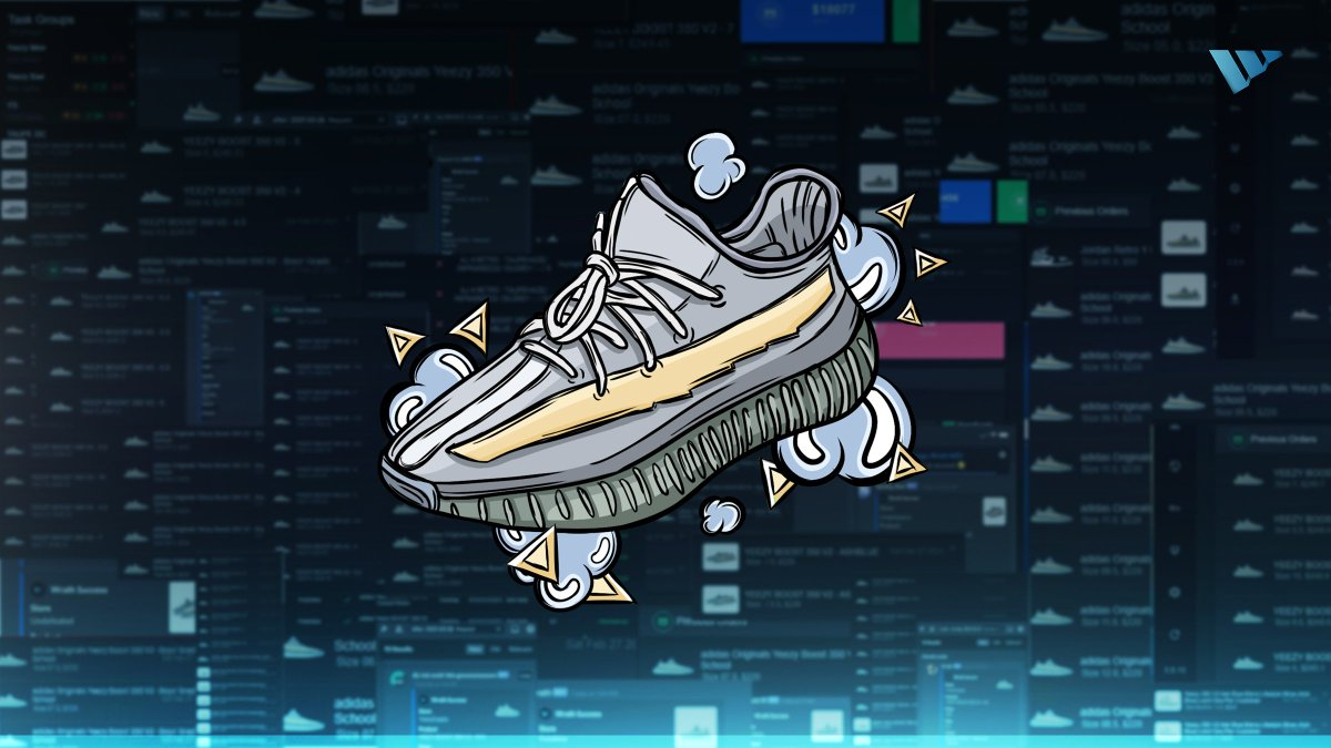 """Yesterday's Yeezy Boost 350 V2 """"Ash Blue"""" release featured yet another cookout for Wrath users, accumulating THOUSANDS of checkouts across various retailers. 🥶🎥  The next few weeks are looking to be packed! Who wants to join us for them? 🤔💬"""