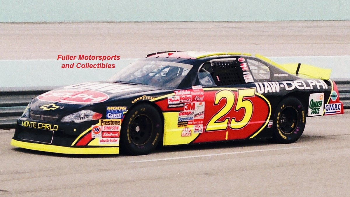 Jerry Nadeau @HomesteadMiami in 2001.