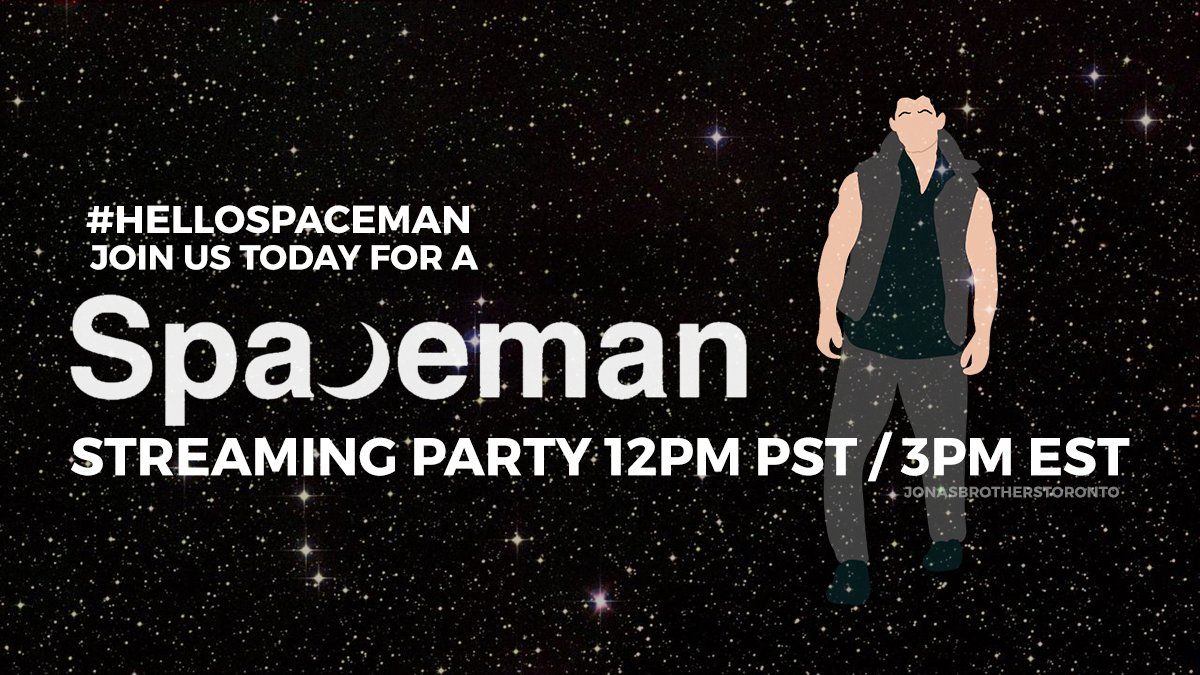 Welcome to the #HelloSpaceman streaming party! 🚀   Streaming info:  Apple music playlist:  Spotify playlist:  All things #Spaceman :