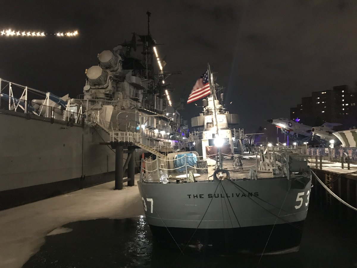 @ScottyDunleavy @WGRZ @DelReid TY @ScottyDunleavy for the suggestion! Our #USSTheSullivans ☘️ would be so grateful for any help @DelReid can generate. We know #BillsMafia's legendary ability to quickly mobilize + support + love worthy causes in #WNY like our #NationalHistoricLandmark ship! 🇺🇸#AllHandsOnDeck