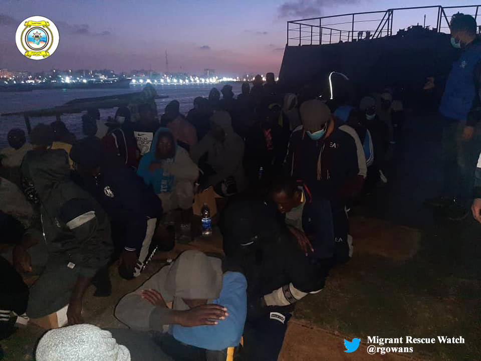 "@alarm_phone @Armed_Forces_MT 1/2🔴2nd #SAR Op 28.02.21 - Libyan Coast Guard ship ""Ubari"" rescued 86 #migrants incl. 9 women and 8 children. All disembarked safely in Tripoli and were provided with medical and humanitarian aid. [cont] #migrantcrisis #frontex #seenotrettung #COVID19"