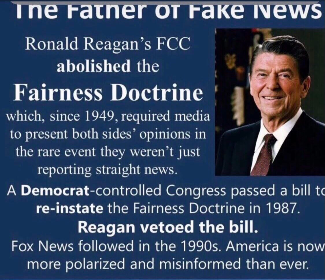 @PalmerReport #MSM are major corporations owned by the rich who are reaping beaucoup bucks $$$ from #GOPTaxScam   @GOP Trump was/is their CashCow! He still is their ratings golden calf (cow) Time to bring back the Fairness Doctrine that Reagan repealed to reward his rich donors!