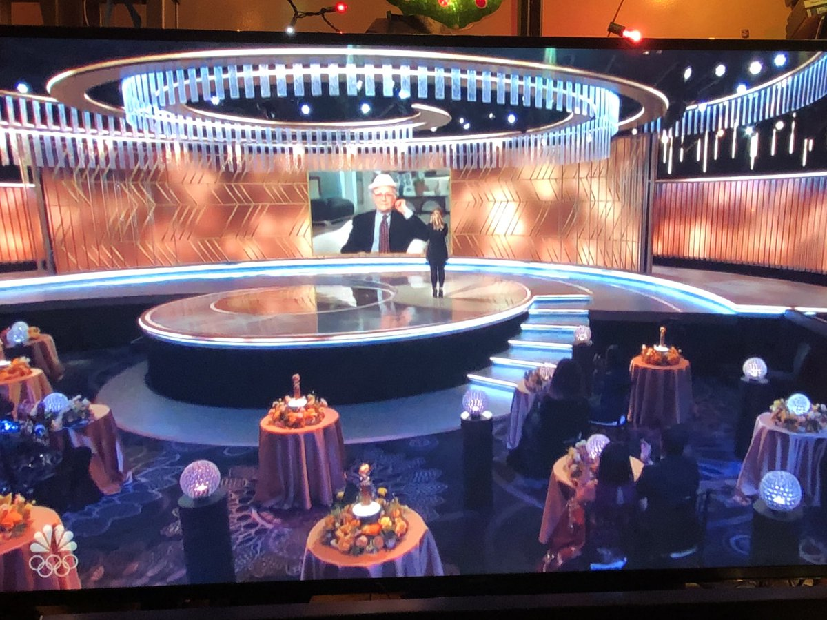All audience members get to take home their very own Mini Spaceship Earths. #EPCOT #GOLDENGLOBES