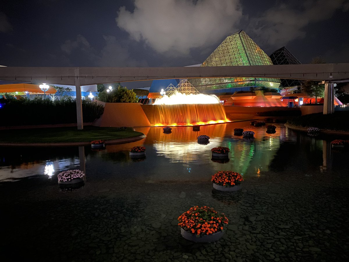 Day or night The Floating Gardens are beautiful!   #Epcot #DisneyWorld