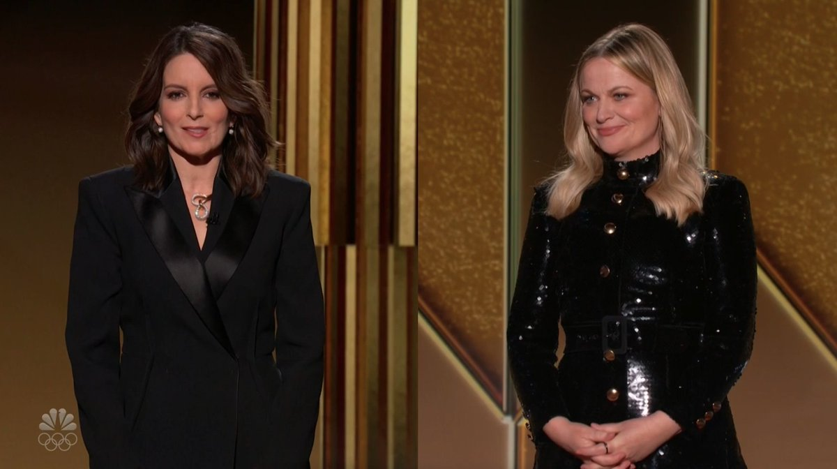 Tina Fey and Amy Poehler's Brutal Opening Monologue Was Exactly What the Golden Globes Deserved