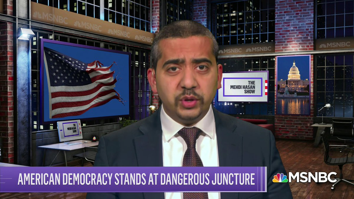 Journalists should have a bias. A bias towards democracy... proud to call ourselves democrats, small-d democrats. As voter suppression laws proliferate, heres my mission statement for my new @MSNBC show, which debuted tonight. Do pls watch & share: