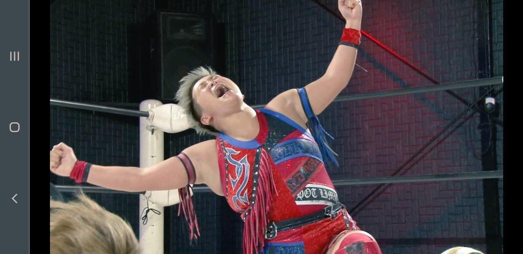 @mizunami0324 I love this fight so much and it was Incredible I really hope to see you in AEW You deserved this win to move in the tournament #AEWWomensTournament