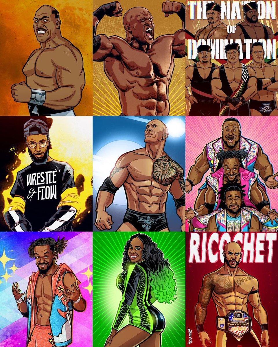 To all the Black leaders in wrestling #BlackHistoryMonth   (via @Nolanium)